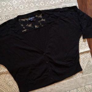 American Eagle 🦅 XL Lace Cardigan Sweater